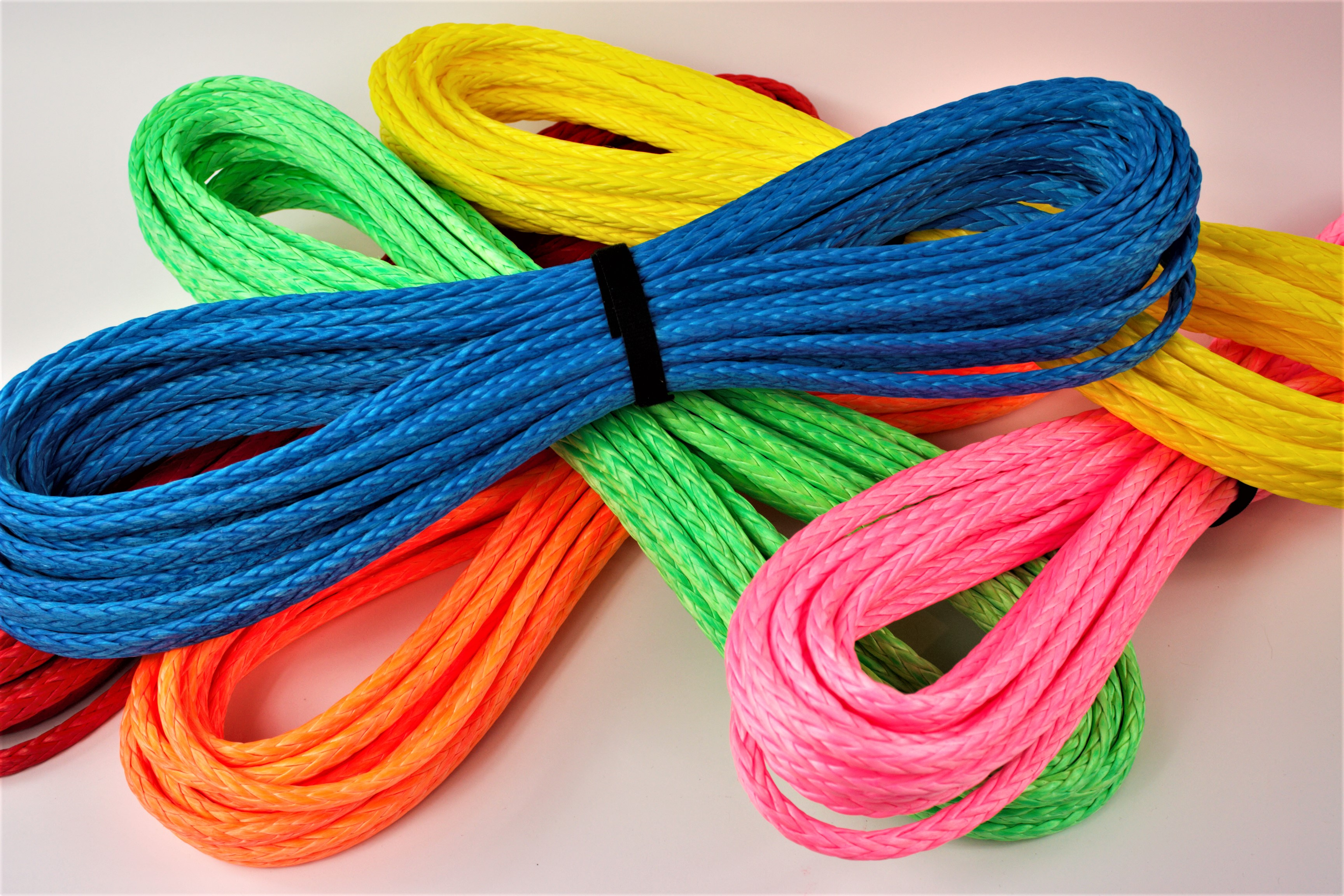 """7/16"""" 12 Synthetic Rope, 12 strand made with Dyneema SK78 A"""