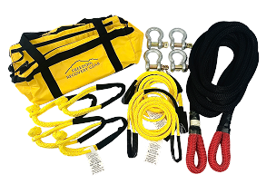 Vehicle to Vehicle Recovery Kits for up to 8500 lb GVW K.E.R.R. Rope